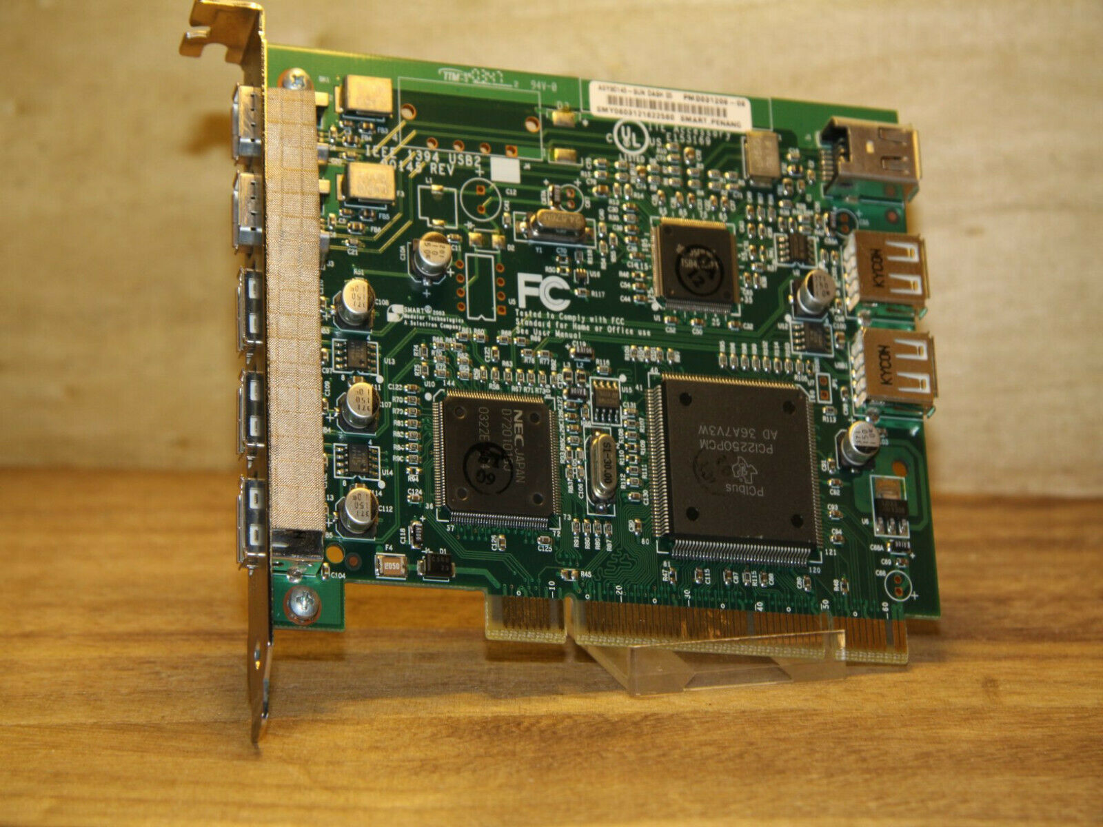 ✔️⚙️ WORKING SUN 375-3140-05 USB FIREWIRE COMBO PCI CARD - UK SELLER