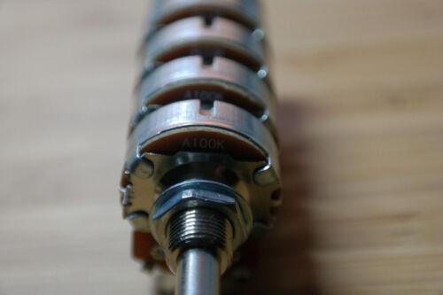 Volume potentiometer pot control power switch on//off  McIntosh C20 Pilot SP-210