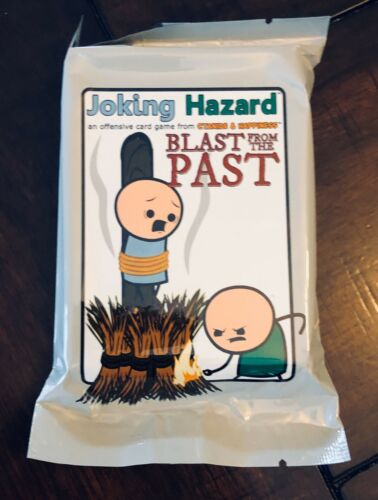 50 New Cards NEW SEALED Blast From The Past Expansion For Joking Hazard