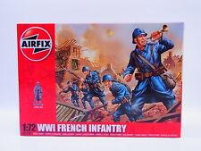 Interhobby 43622 Airfix A01728 WWI French Infantry 1:72 Bausatz NEU OVP