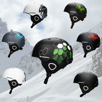 Adults Kid Unisex Ski Helmet Protective Snowboarding Snow Skating Sports Helmet