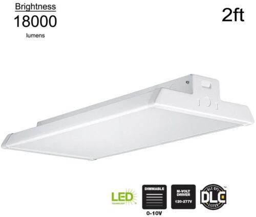 High Bay Lighting Light Commercial 2 ft 18000 Lumen LED Dimmable White Hardwired