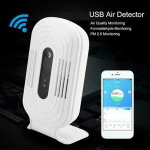 USB-Wifi-Air-Quality-Tester-Smart-Monitor-Detector-PM2-5-HCHO-amp-TVOC-amp-CO2-Analyzer