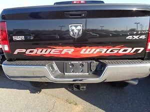 14 16 dodge ram 2500 new red power wagon tailgate decal for Peak motors hickory nc reviews