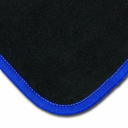 Fußmatten Kettelung blau Ford Transit ab 2014 1 teilig Automatten Autoteppiche