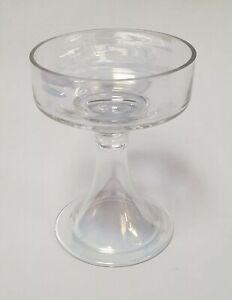 Yankee-Candle-Large-Pillar-Tumbler-Candle-Holder-Lustre-Iridescent-Glass