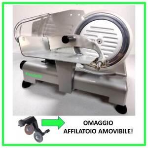 Affettatrice Lusso 195 GL RGV Attenzione! Pressamerce in Alluminio e Affilatoio!