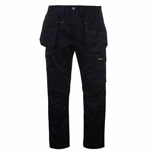 Dunlop Para Hombres Stretch Pantalones De Trabajo Pantalones Pantalones Cremallera Workwear Ebay