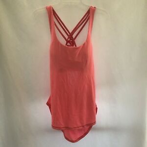 0bb492e60b Lululemon Free To Be Serene Tank 2 In 1 Medium Support C D Cup Pink ...