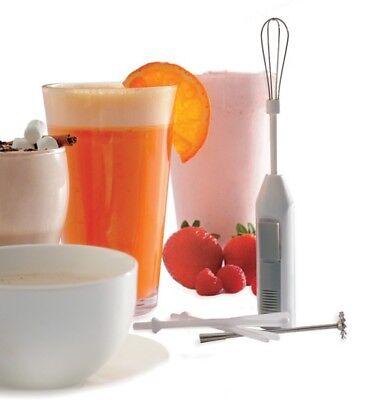 Norpro Deluxe Cordless Mini Mixer Hand Blender 5-Piece Set for Cocktails Latte