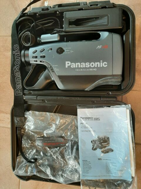 Panasonic Vhs Omnimovie Hq Accessories Plus Empire Camcorder Battery Charger For Sale Online Ebay