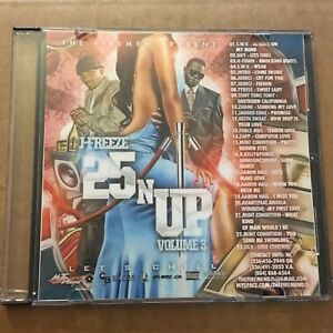 Details about J-Freeze 25 & Up! 90's Slow Jam R&B RNB Classic Slow Jamz  Mixtape MIX CD