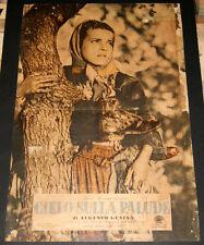 fotobusta originale CIELO SULLA PALUDE Ines Orsini (Maria Goretti) 1949 #3