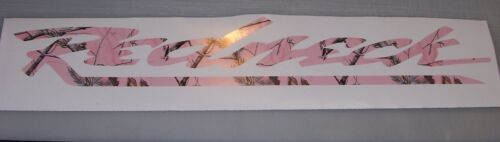 REDNECK Real Tree PINK CAMO Window Windshield Decal Sticker Decals Mossy Oak M4