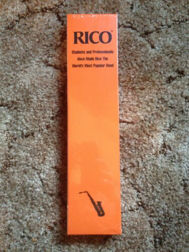 Rico 3.5 3 1//2 Alto Saxophone Reeds 50 Pack New Ships fast Nice!