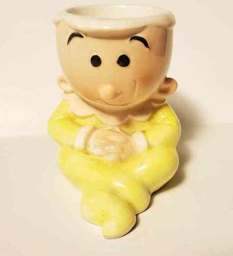 RARE Vtg Swee/' Pea Egg Cup Popeye Trinket Dish VANDOR Japan 1980 KFS Sweet Pea