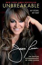 Unbreakable : My Story, My Way by Jenni Rivera (2013, Paperback)