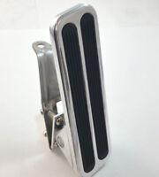 Billet Aluminum Gas Throttle Pedal Floor Mount Hot Rod Rat Chevy Ford Mopar Sbc