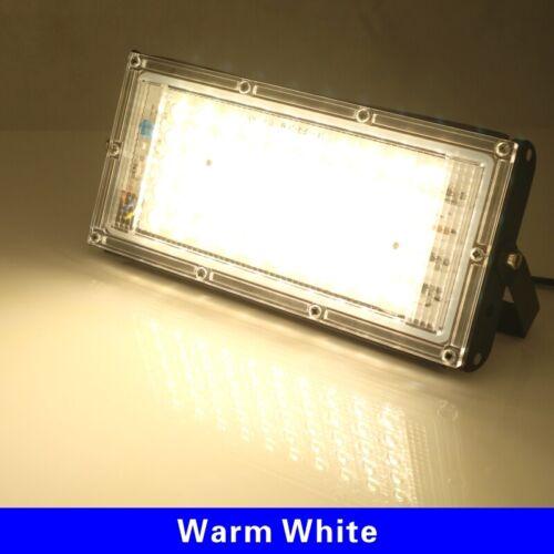 Waterproof LED Flood Light Outdoor 50W 220V 240V Garden Spotlight Reflector Lamp