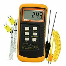 Wired Amp Stainless Steel Thermocouple Probe Digital 2 4 K Type Thermocouple