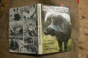 Fachbuch-Wildschweine-Frischling-Eber-Sauen-Jaeger-Weidmann-Suhle-DDR-1982
