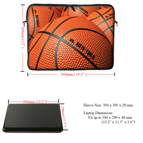 """15/"""" 15.6/"""" Laptop Computer Sleeve Case Bag w Hidden Handle 3150"""