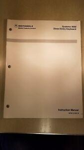 Motorola spectra introductory information.