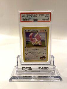 2000-Pokemon-Gym-Heroes-BROCK-039-S-LICKITUNG-1st-Edition-41-PSA-9-MINT-WOTC
