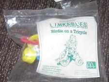 1993 Linkables McDonalds Happy Meal Toy - Birdie on Tricycle