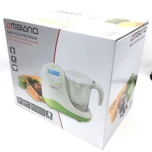 Details about Ambiano Baby Food Processor Maker Steamer Blender Bottle  Warmer Sterilizer New