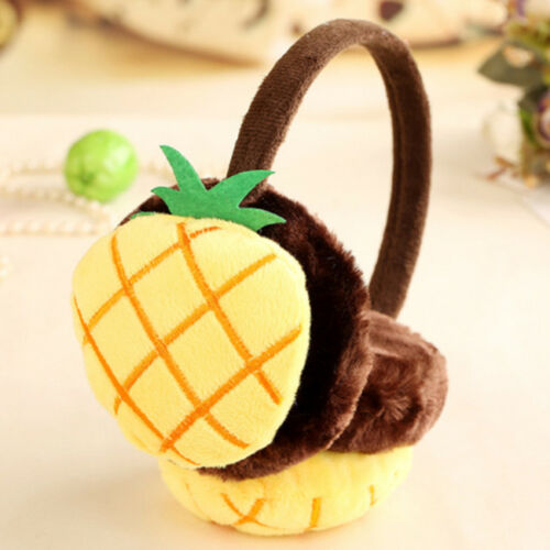 Winter Women Fruit Plush Ear Pad Muffs Earmuffs Warmer Headband Earwarmers FG