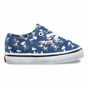 12e44d02cf Image is loading Vans-x-Peanuts-Authentic-Snoopy-Skating-Toddlers-Shoes-