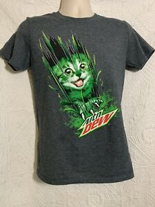 Mountain Dew  Mtn Dew Soft Drink T-Shirt Cotton 100/% S-4XL USA sz Fast Shipping