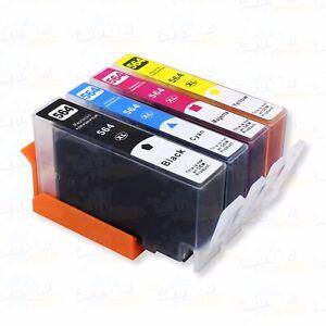 4PK-New-564XL-Ink-Cartridge-for-HP-Photosmart-6510-6520-7510-7520-5520-5510