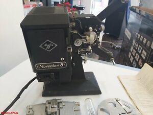 AGFA-MOVECTOR-8-proyector-de-peliculas-Estuche-y-Accesorios