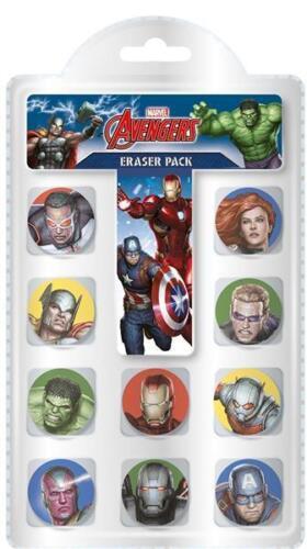 Avengers Papeterie Set Gomme Crayon Tin B-day cadeau objets écoliers Stylo