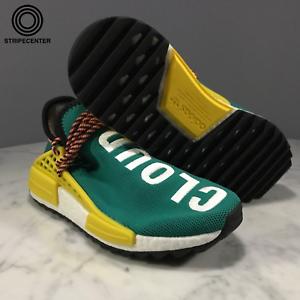 Adidas PHARRELL X NMD TRAIL 'HUMAN RACE' - SGLOW CBLACK EQTYELLOW - AC7188