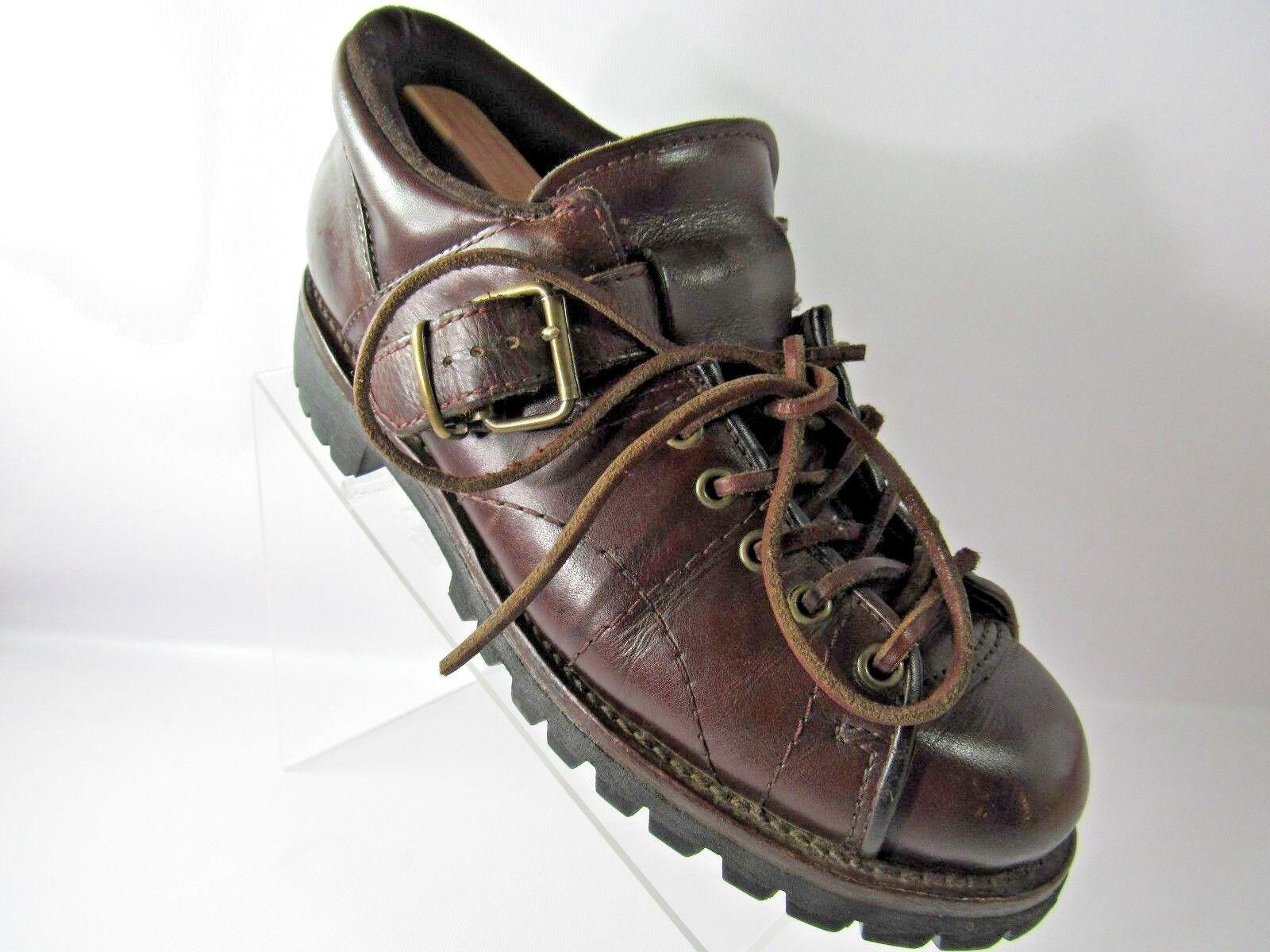 Ralph Lauren Polo Sport Größe 9.5 D D D braun Leather Hiking Ankle Stiefel Mens schuhe 6c3f1e