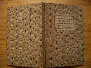 Insel Bücherei Nr. 271 - Annette von Droste-Hülshoff - Die Judenbuche - mit Zeic - Deutschland - Insel Bücherei Nr. 271 - Annette von Droste-Hülshoff - Die Judenbuche - mit Zeic - Deutschland