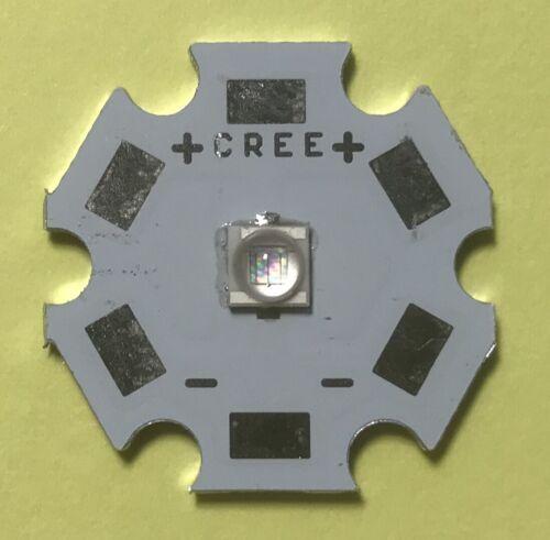 Cree x LED royalblue azul UV 395nm blanco LED listo a montada PCB rojo