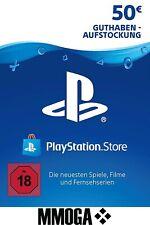 50 EURO PSN PlayStation Network Guthaben DLC