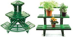 Image Is Loading 3 Tier Etagere Plant Stand Pot Garden Display