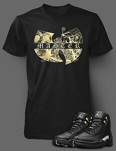 Tee-Shirt-to-Match-Air-Jordan-12-Shoe-The-Wu-Tang-Master-T-Short-Sleeve-Pro-Club
