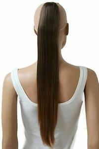 Details Zu Prettyshop Hairpiece Ponytail Clip On Extension Long Hair Smooth Heat Resisting