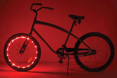 WheelBrightz Bicycle Light LED Bicycle Light Kit ABS Plastics