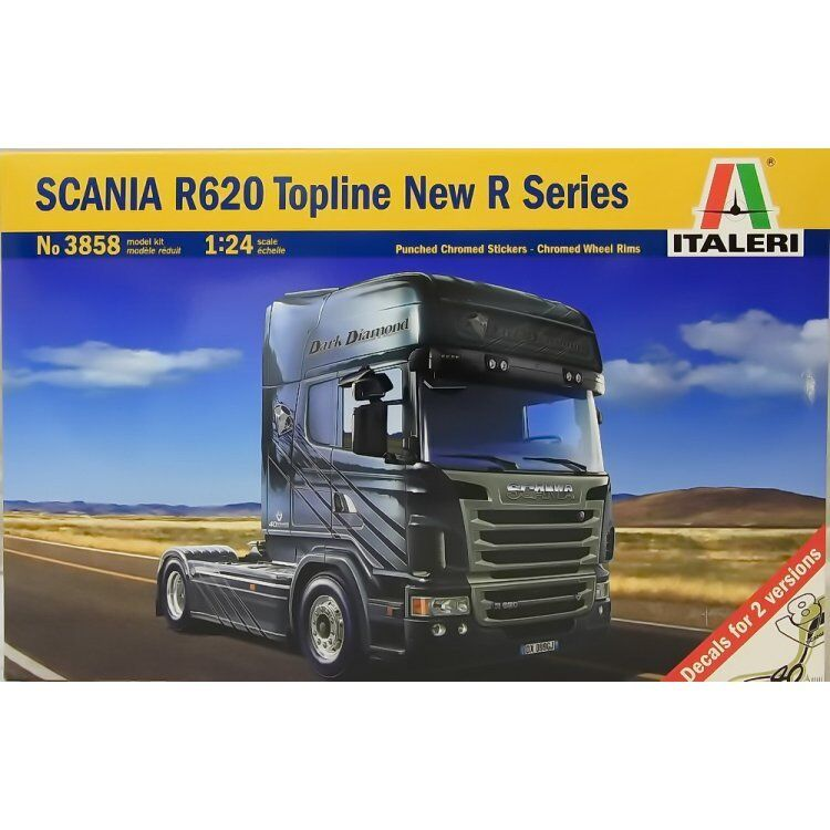 ITALERI 1 24 KIT CAMION SCANIA R620 TOPLINE nouveau R  SERIES  24,7 CM  ART 3858  bon shopping
