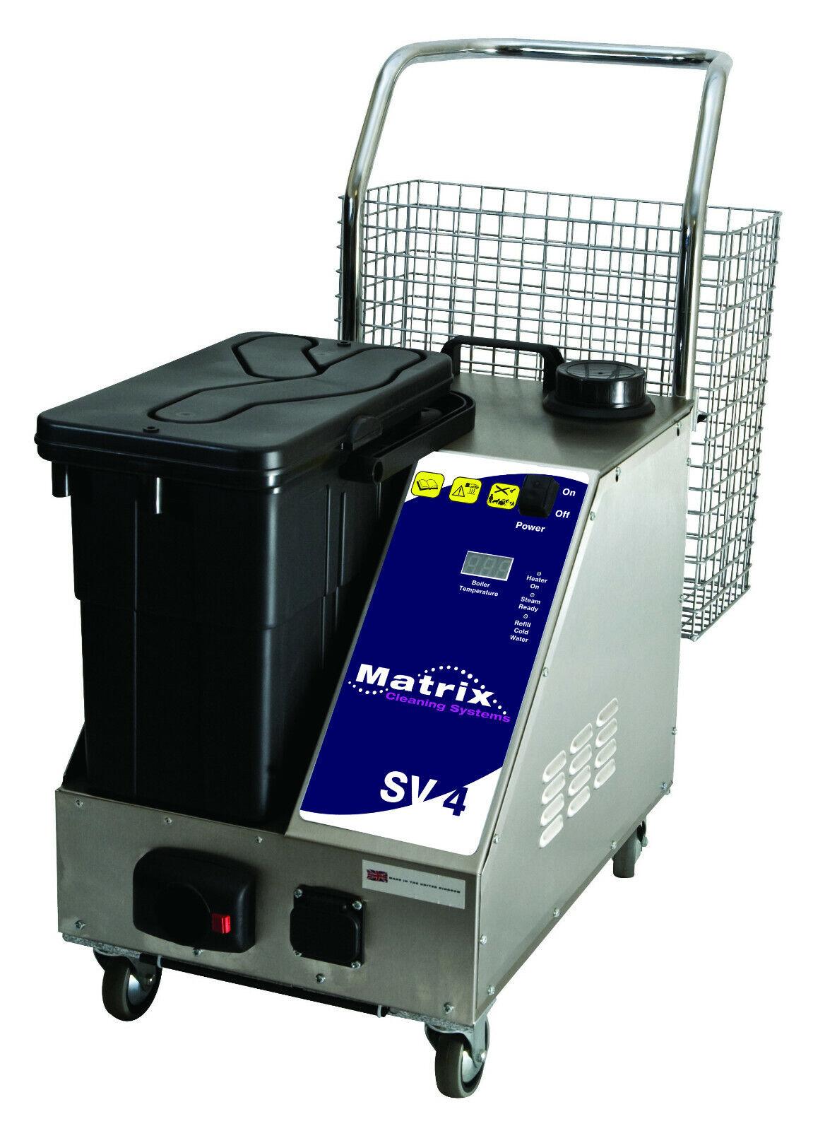 MATRIX SV4 Steam Cleaner & Vacuum Brand New with full tool kit