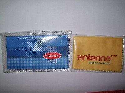 Brillenputztuch Rbb Antenne Brandenburg + Schärdinger Geschickte Herstellung