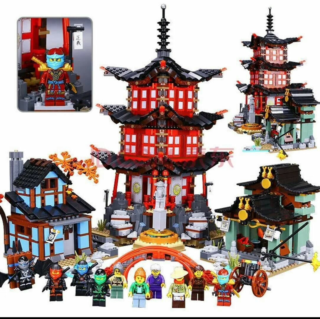 2150pcs Ninjago Temple of Airjitzu 70751 - Brand New Complete Set + Instruction