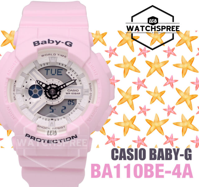 Casio Baby-G New Beach Color Series Watch BA110BE-4A AU FAST & FREE